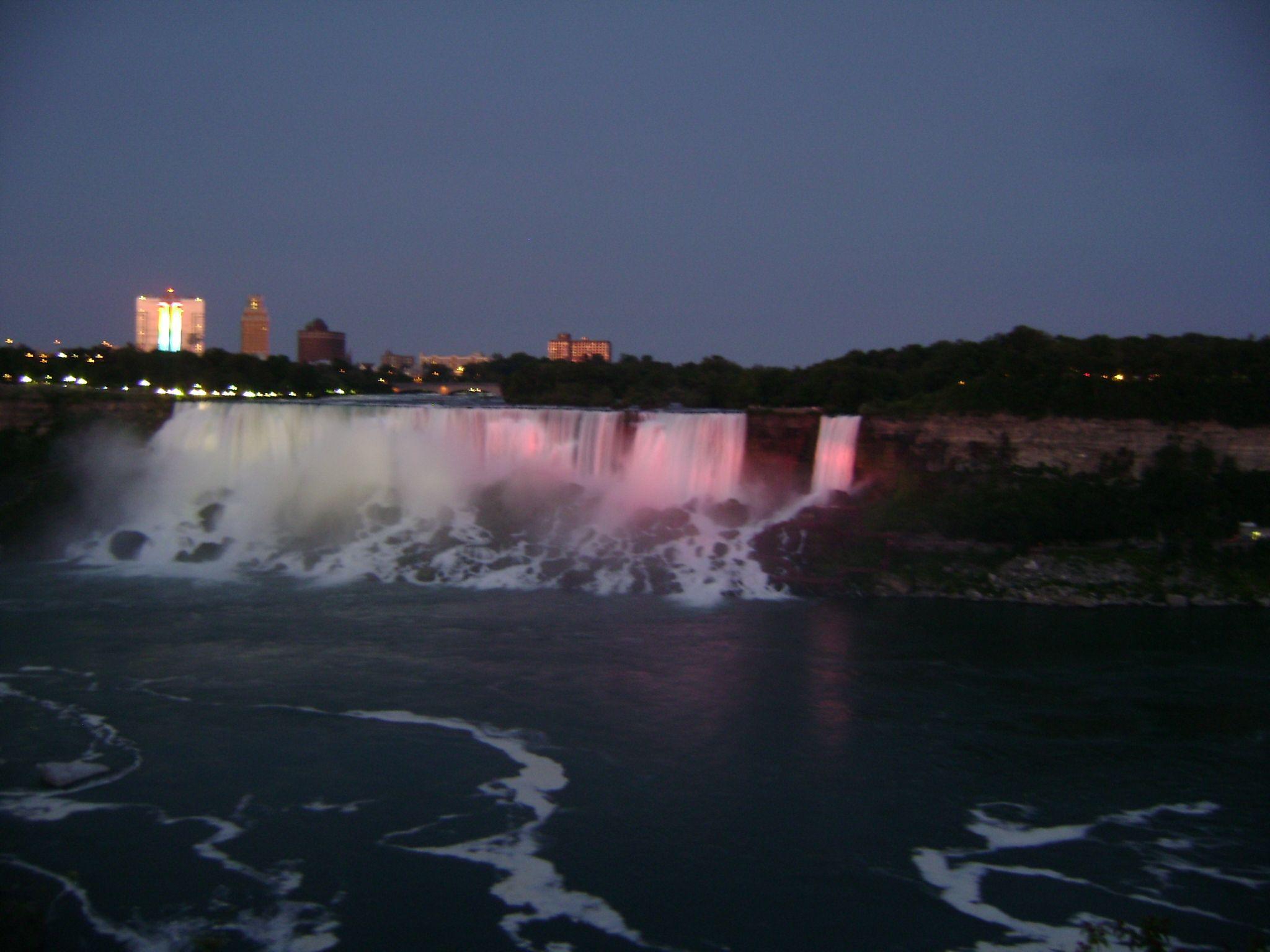 Niagara Falls Canada شلالات نياجرا كندا Natural Landmarks Landmarks Travel