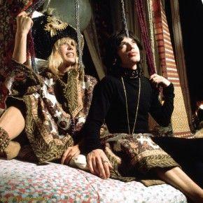 Psychodelic Mick Jagger & Anita Pallenberg