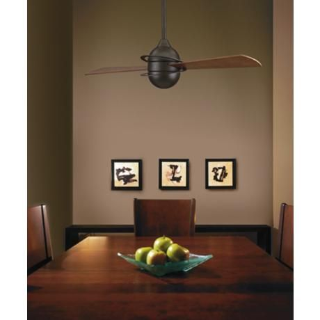 "52"" Fanimation Involution™ Bronze Ceiling Fan"