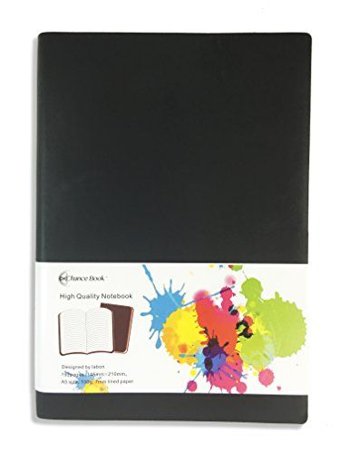 "Miliko Chance Book PU Leather Softcover Notebook Journal diary - A5, color Edges, LINED - 8.3"" x 6"" Black Chance Book http://www.amazon.com/dp/B01BAA7EYI/ref=cm_sw_r_pi_dp_7x30wb1843MZF"