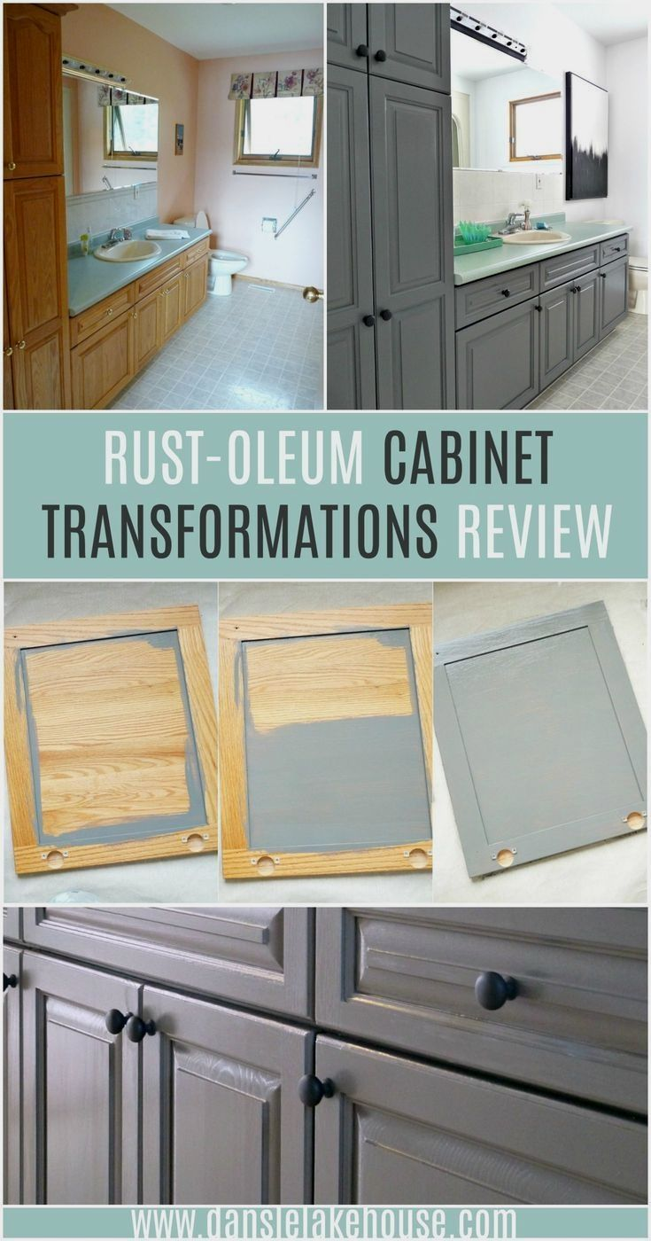 Rust Oleum Cabinet Transformations Review How To Refinish Cabinets Easily In 2020 Refinishing Cabinets Kitchen Design Diy Diy Bathroom Makeover
