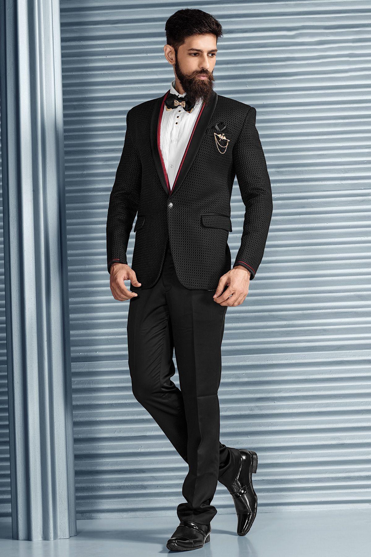 Black Italian Tuxedo Suit-ST617 | TUXEDO SUITS | Pinterest | Buy tuxedo