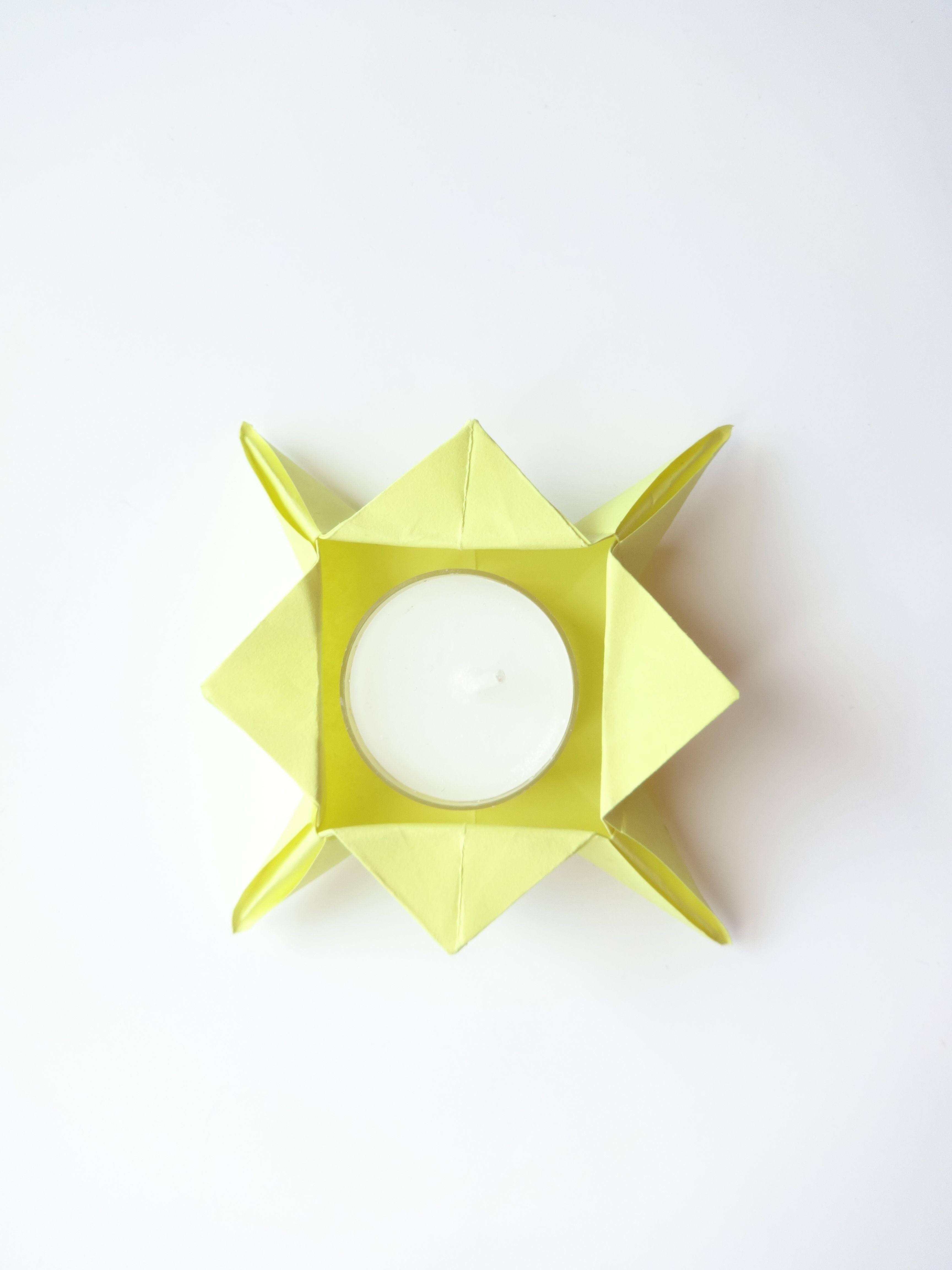 ORIGAMI / HOLDER | | DIY | ROBEENYA TUTORIALS | Origami ... - photo#6