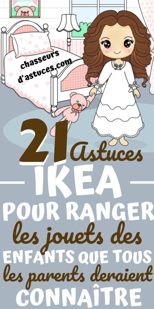 21 Astuces Ikea Pour Ranger Les Jouets Des Enfants Que