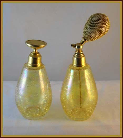*Perfume atomizer & bottle