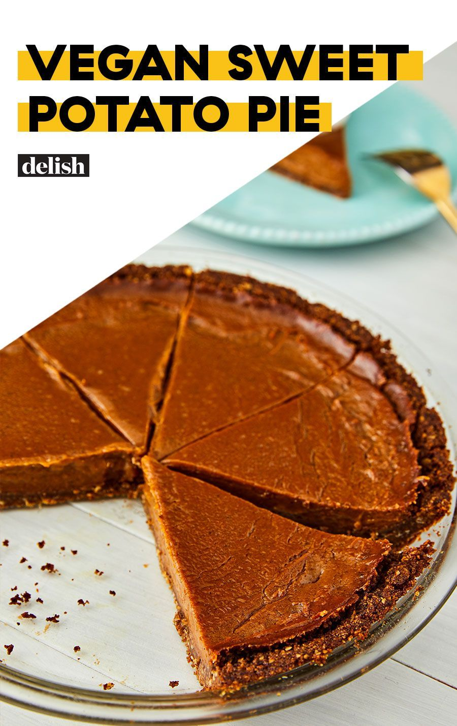 Sweet Potato Pie That You Would Never Know Is Vegan