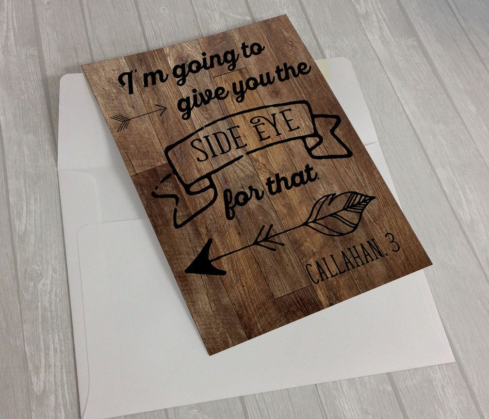 Custom Order Reclaimed Wood Funny Quote Custom Print Personalized
