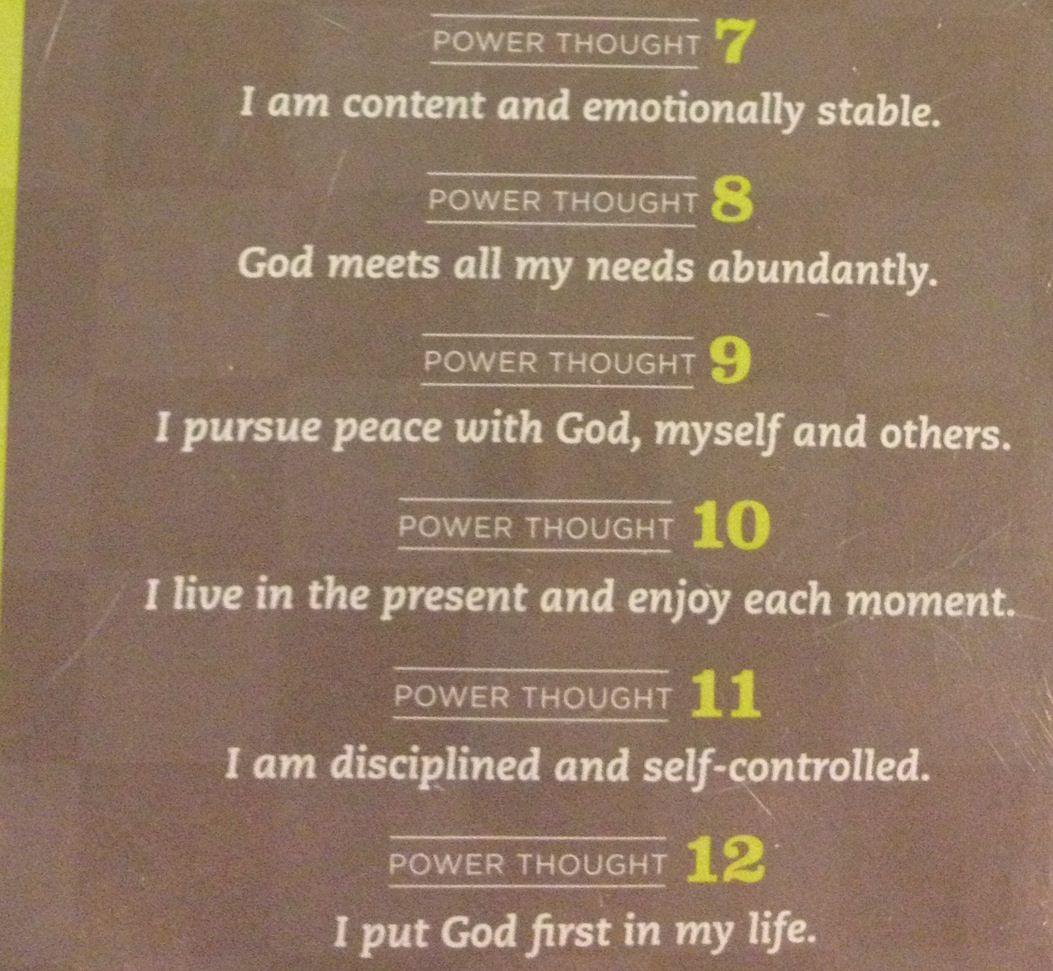 Power Thoughts | Joyce Meyer | Joyce meyer quotes, Positive