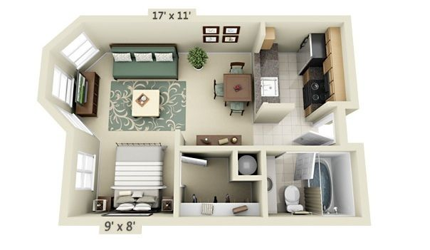 Small Apartment Floor Plans Jpeg 604 351 Small Apartment Floor Plans Apartment Floor Plans Small Apartment Plans