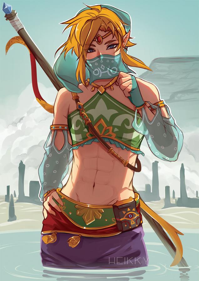 5c2dcdd066 The Legend of Zelda- Link #Game ☆*:.。. o(≧▽≦)o .。.:*☆ Gerudo Link - Breath  of The Wild