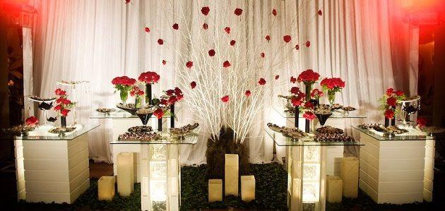 decoraç u00e3o de casamento vermelho e dourado decoraçoes de casamento verrmelho Pinterest # Decoração Para Casamento Vermelho Branco E Dourado
