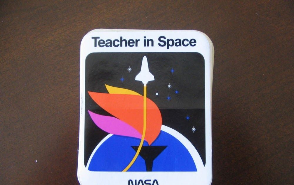200  NASA TEACHER IN SPACE Crew Mission Astronaut Stickers Dealers Lot. 200  NASA TEACHER IN SPACE Crew Mission Astronaut Stickers Dealers