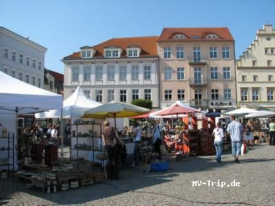 Töpfer- und Kunsthandwerkermärkte in Mecklenburg-Vorpommern