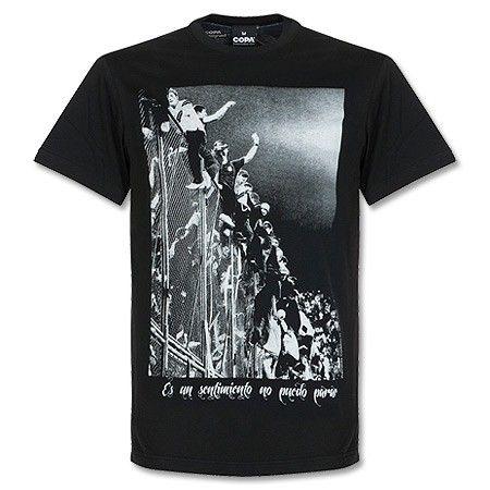 T-Shirt Copa Barra Brava - Negro  ab1d4a989da78