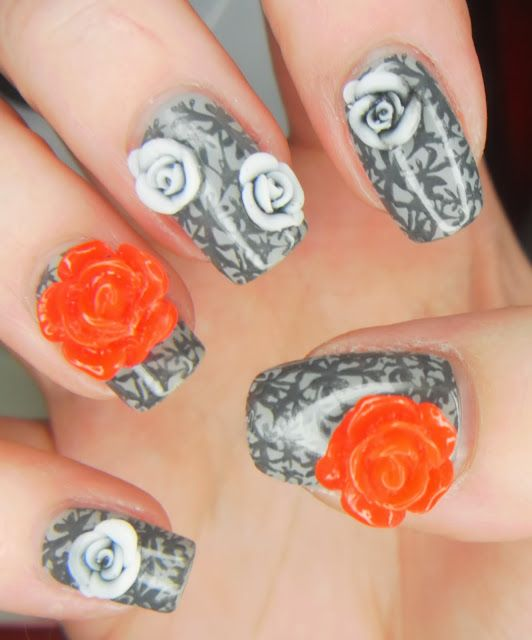 Spectacular 3d Nail Designs 20 Dramatic Nail Art Ideas You Must See