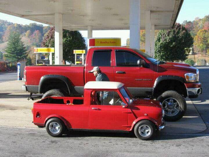 Mini vs truck