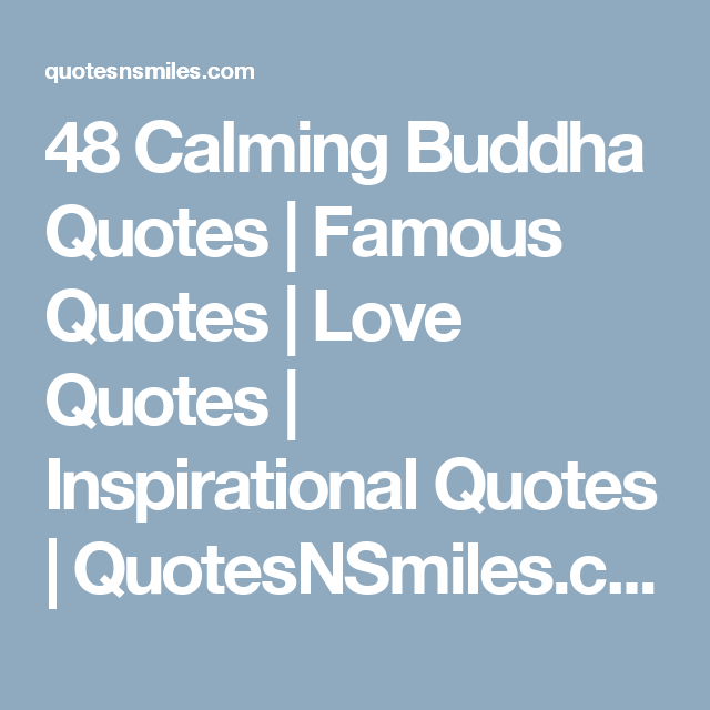 Short Love Quotes In Different Languages Asgq17dkg: 48 Calming Buddha Quotes