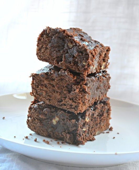 Fudgy Black Bean Brownies (serenabakessimplyfromscratch.com)...yes it says black…