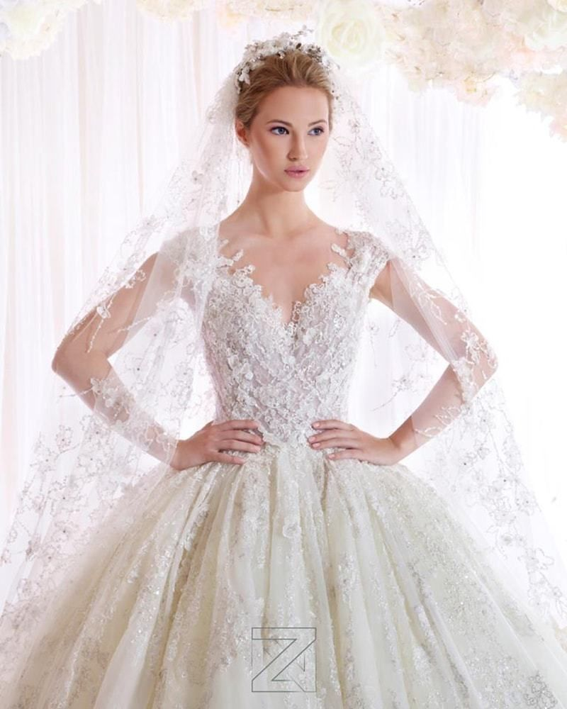 فساتين زفاف زياد نكد 2017 Bridal Dresses Wedding Dresses Bridal