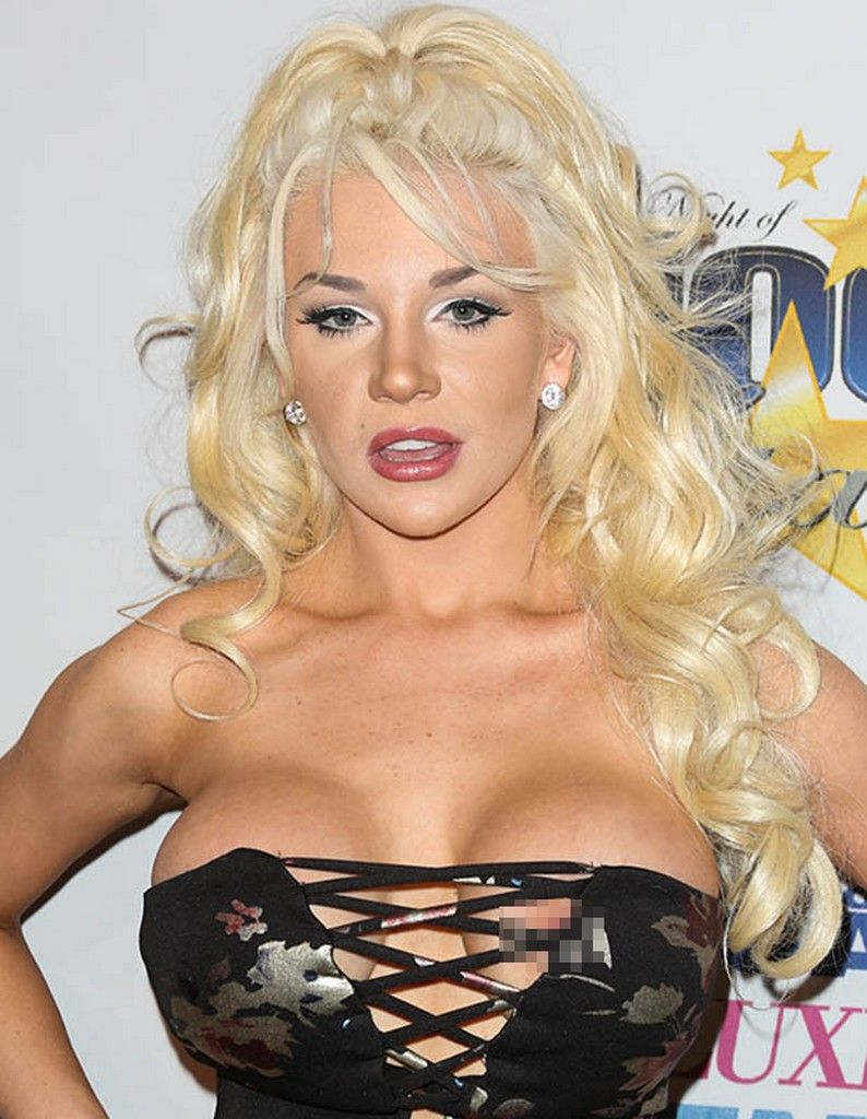 Courtney Stodden X-rated Dress Results In Wardrobe ...