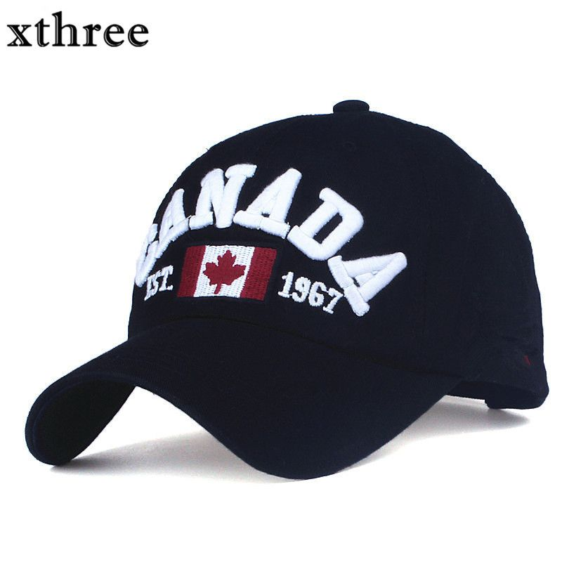 410b6787e40a4 XTHREE brand canada letter embroidery Baseball Caps Snapback hat for Men  women Leisure Hat cap wholesale   Price   14.00  electronic
