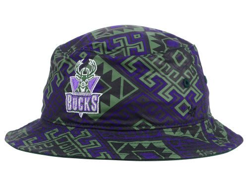 f9a7614421c Milwaukee Bucks 47 Brand NBA HWC Emmer Bucket Hats
