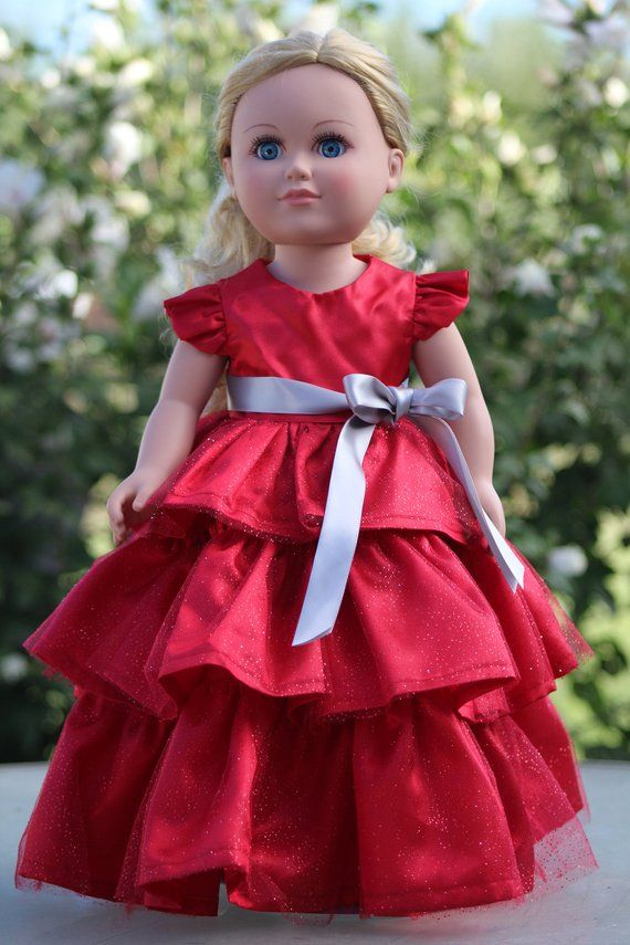 Doll Clothes Dress Shoes For 18inch Christmas Girl//Our Generation Journey Girl