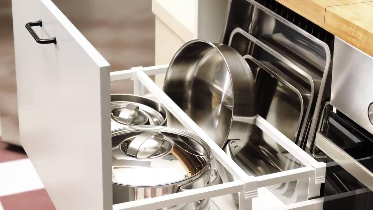 Cuisine Ikea Ranger Et Organiser L Interieur De Votre Cuisine Cuisine Ikea Tiroir Cuisine Rangement Tiroir