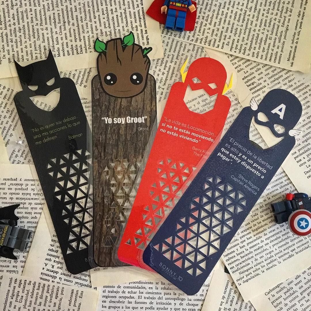 Libros De Lego Holding Out For A Hero Superheroes Bookmarks