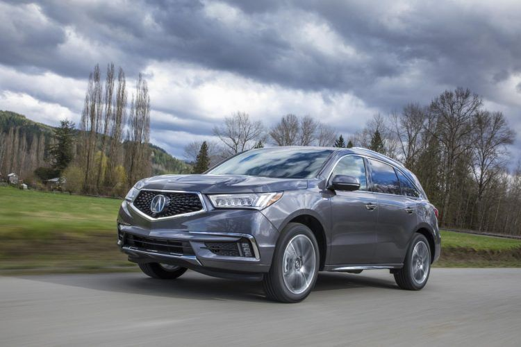 2020 Acura Mdx Mdx Sport Hybrid A Brief Walk Around Car