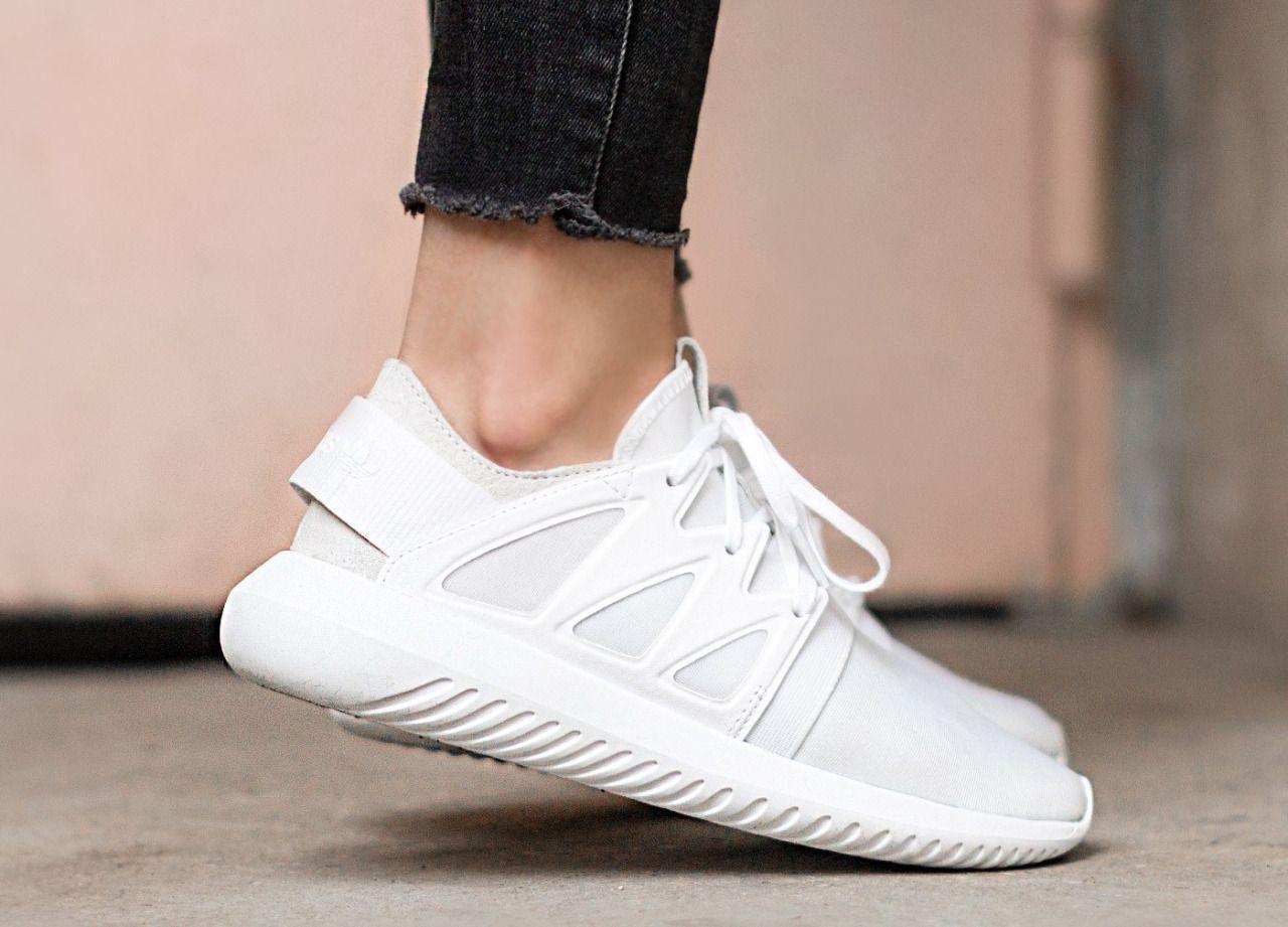 Adidas tubular viral 'core white' in 2019 | Adidas shoes