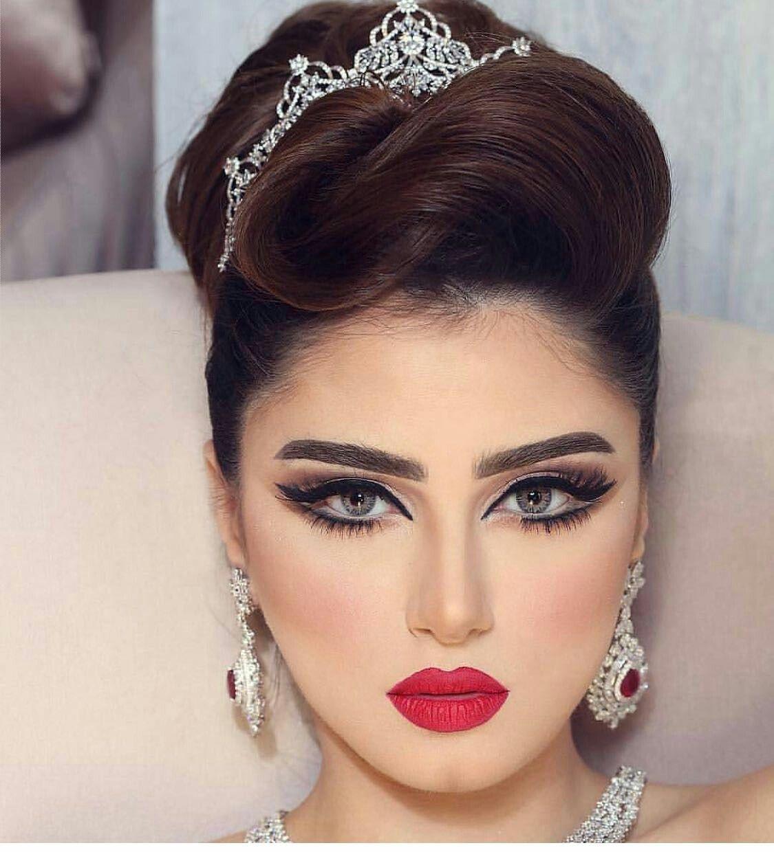 Pin By Rayana Alkaram On Meصور Bride Makeup Bridal Makeup