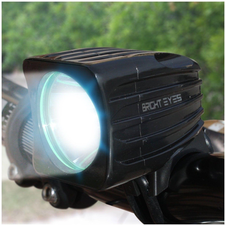 Bright Eyes Fully Waterproof 1600 Lumen Rechargeable Mountain Road Bike Headligh