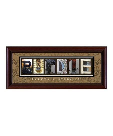 Home Page Zulily Letter Wall Art Framed Art Purdue University