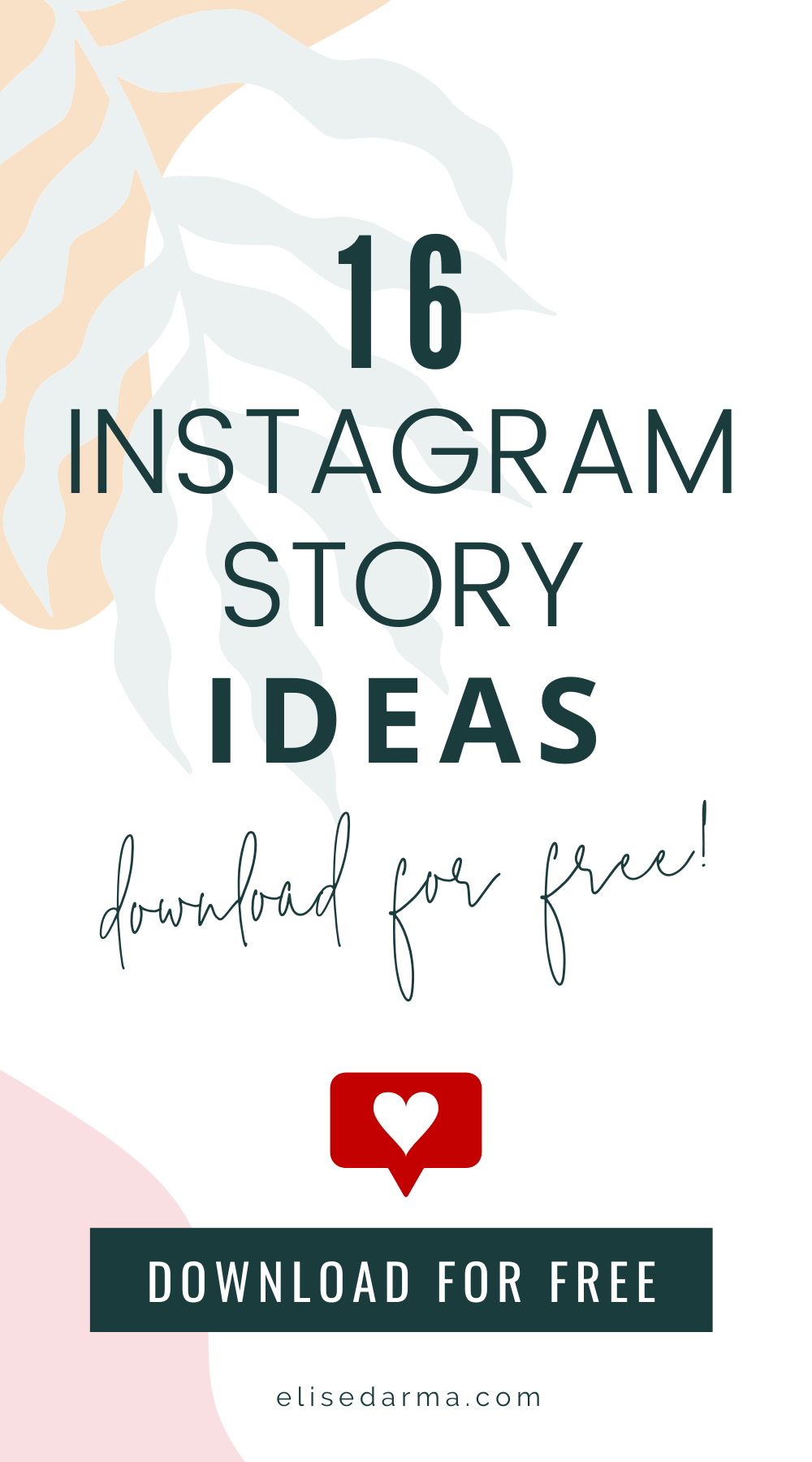 [Free Download] 16 Instagram Story Ideas For Your Business