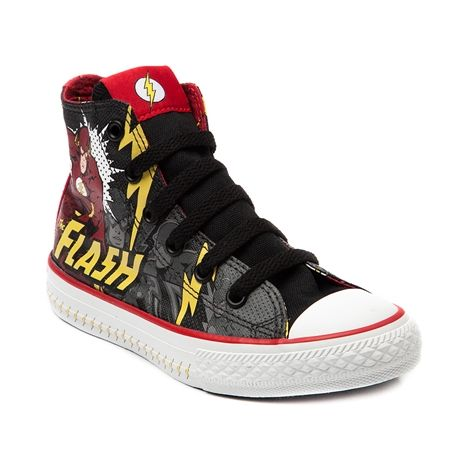 Shop for Youth Converse All Star Hi Flash Sneaker in Red Yellow at Journeys  Shoes.