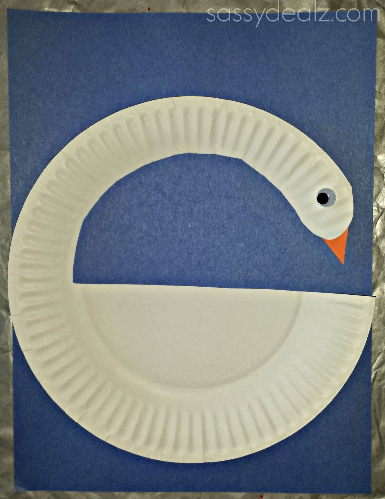 DIY Swan Paper Plate Craft For Kids - Crafty Morning : kids paper plate crafts - pezcame.com