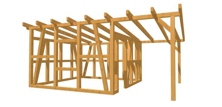 Gartenhaus günstig selber bauen (mit Bildern) Holzhaus