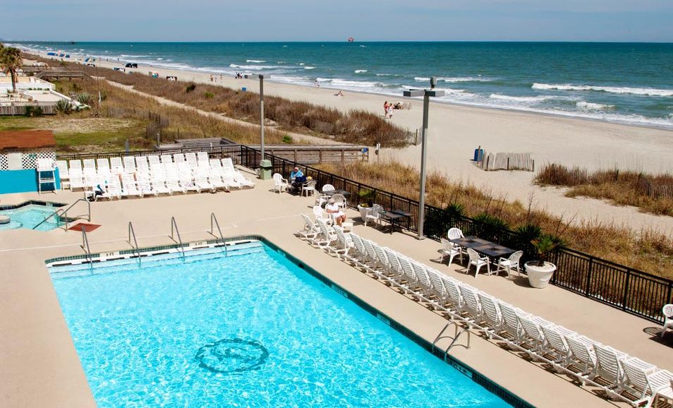Groupon Stay At Landmark Resort Hotel In Myrtle Beach Sc Dates Available Into