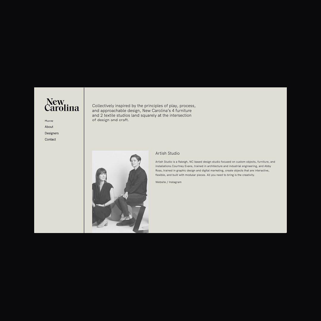 New Carolina Web Design By Otherlove In 2020 Web Design Print Packaging Logo Design