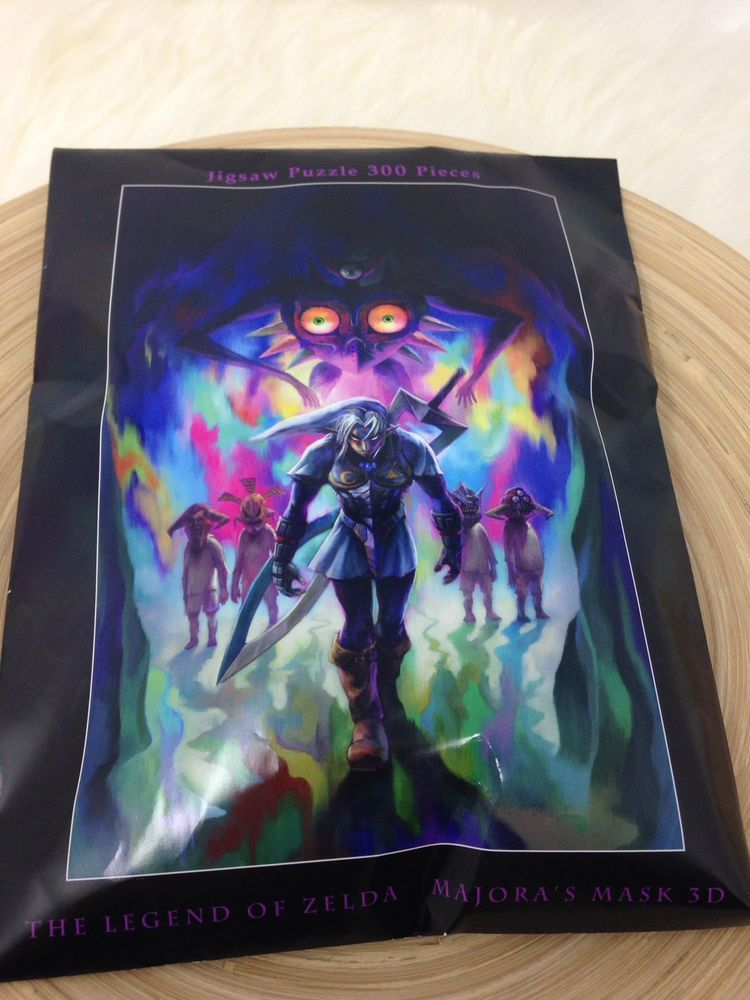 the legend of zelda majora's mask jigsaw puzzle 300 pieces