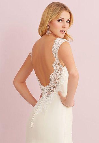 Allure Romance 2764 (Back view) Debra\'s Bridal Shop at the Avenues ...