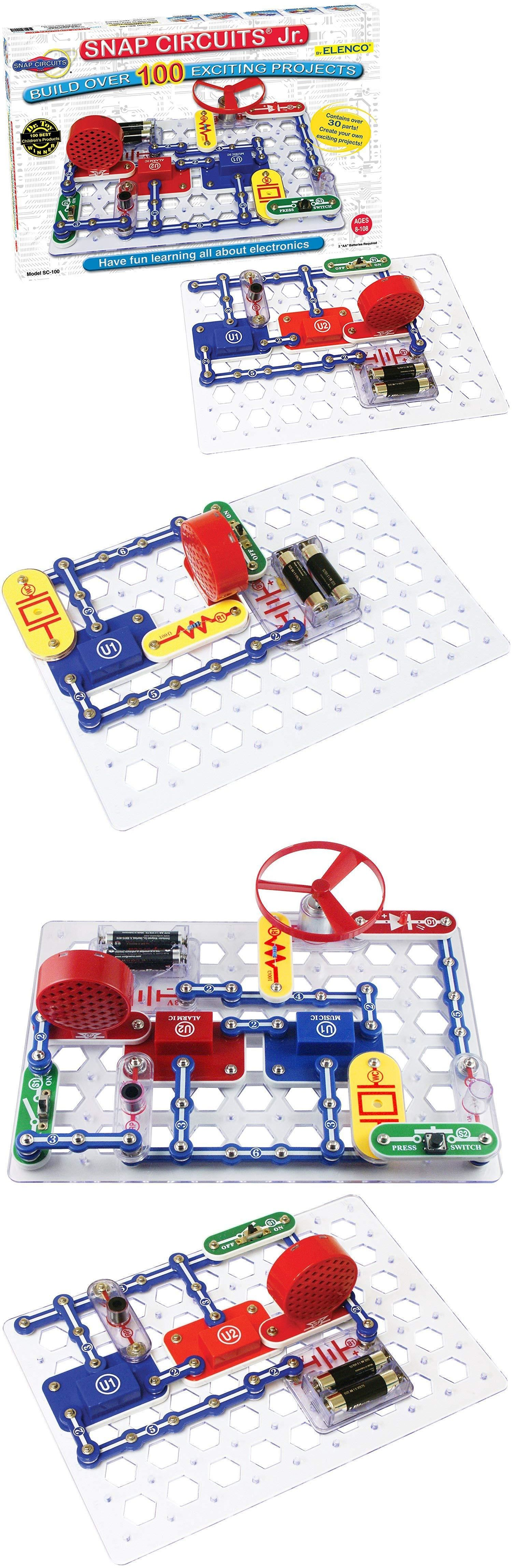 Science And Nature 31743 Electric Circuit Discovery Kit Fun Snap Circuits Fm Radio Ebay Creative Educational Building Toy For Kids