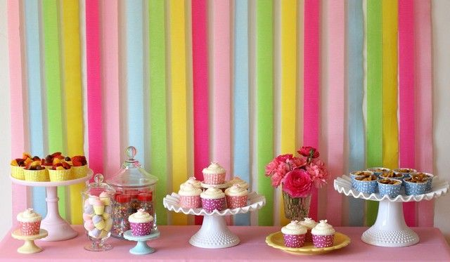 Simple Birthday Table Decoration Ideas Google Search Cake