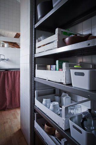 Soluzioni salvaspazio: cucina mobili fai da te | Fai da Te | Pinterest