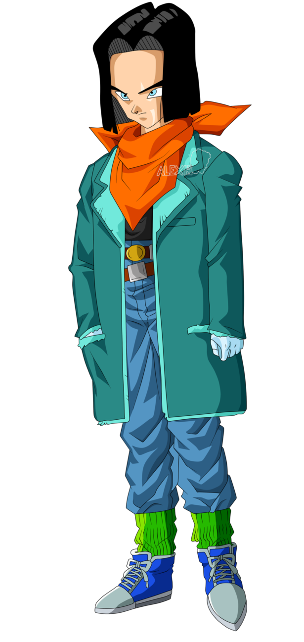 Android 17 Lapis End Of Z By Alexiscabo1 Dbz Characters Deviantart Dbz Manga