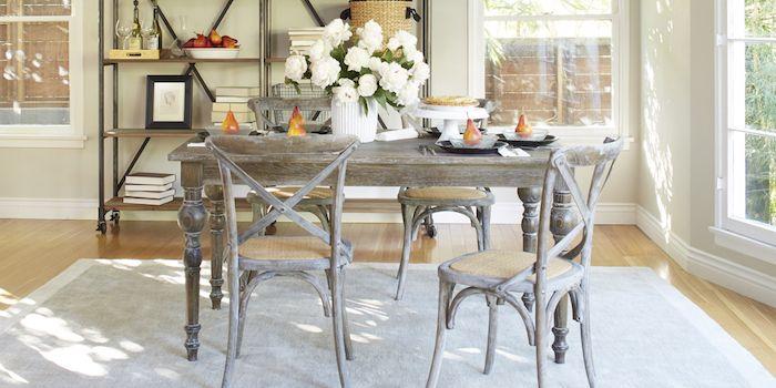 Kommode Shabby, Küche Einrichten Und Dekorieren, Tisch Und Stühle Im Retro  Look