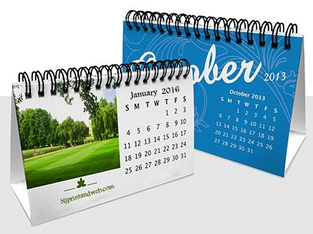 Desk Calendars Online Personalized Desktop With Logo Printed In U S Best Price