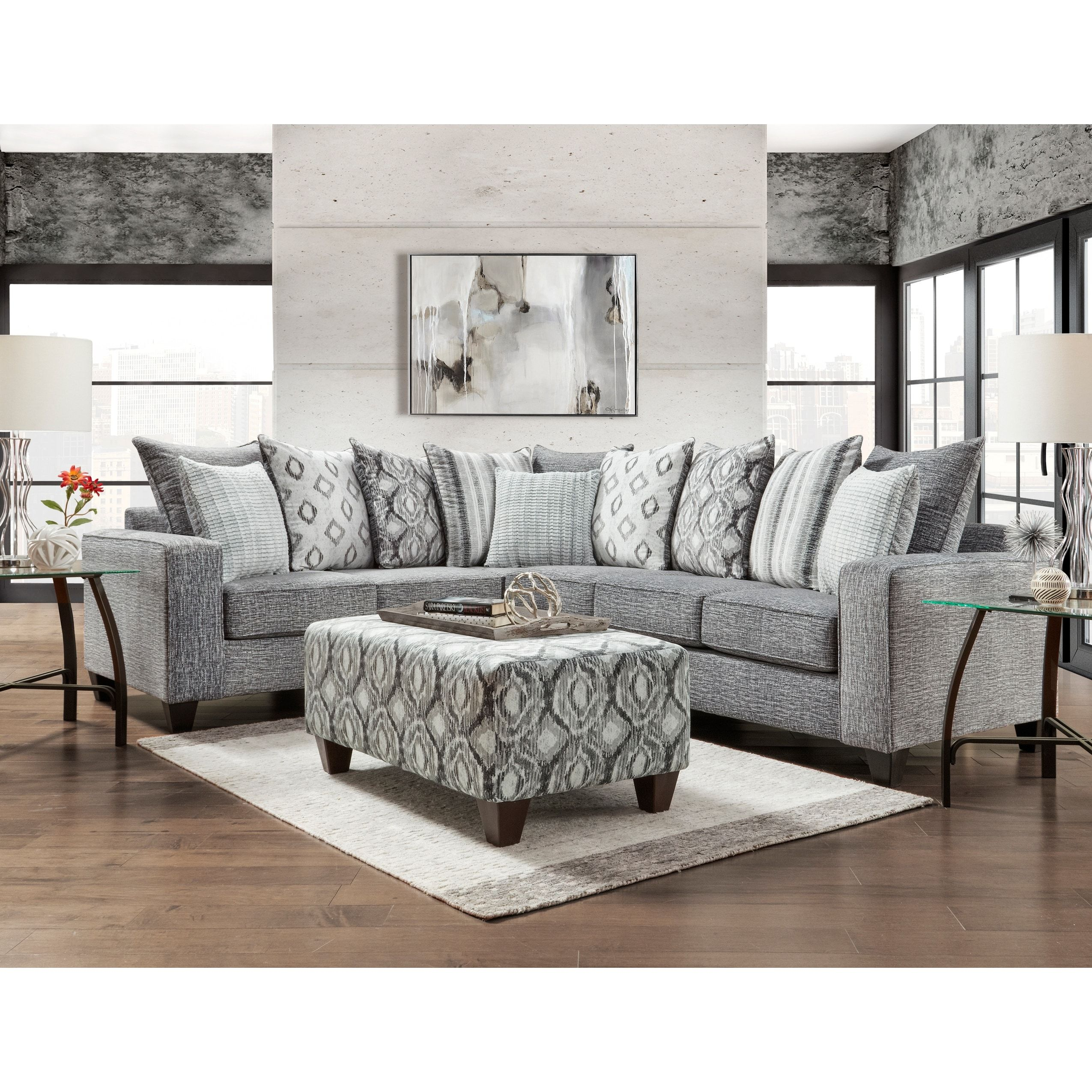 Our Best Living Room Furniture Deals Charcoal Sectional Furniture Sectional Sofa [ 2550 x 2550 Pixel ]
