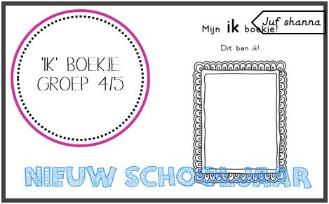 New Nieuw schooljaar: Ik boekje - groep 4/5 (Juf Shanna) | Pinterest  &UU41